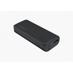 Cygnett Charge Up Sport 4.400mAh Powerbank 1 USB Port/1.0A, šedo-čierna CY1444PBCHE