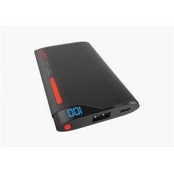 Cygnett ChargeUp Polymer Digital Powerbank 4.000mAh, 1 USB/2.1A, pre smartfóny a tablety, čierno-červená CY1999PBCHE
