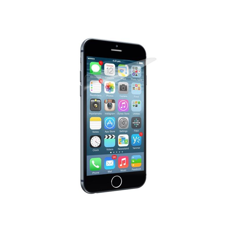 Cygnett ochranná fólia OpticClear pre iPhone 6 Plus, proti odtlačkom prstov, priehľadná, 2ks CY1676CPOPT