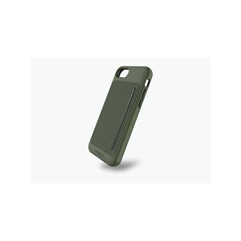 Cygnett, obal WorkMate Pro so zvýšenou odolnosťou pre iPhone 7, zelená-khaki CY1988CPWOR