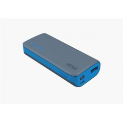 Cygnett Charge Up Sport 4.400mAh Powerbank 1 USB Port/1.0A, šedo-modrá CY1420PBCUS