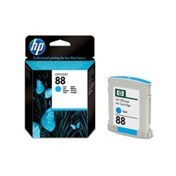 HP Cartridge C9386AE 88 Cyan Officejet Ink