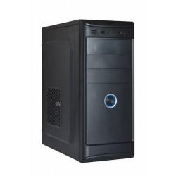 Eurocase ML X401, ATX, bez zdroja, 2xUSB, čierna MLX401