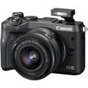 CANON EOS M6 + EF-M 15-45mm IS STM čierny 1724C012
