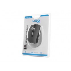 UGO wireless Optic mouse MY-03 1800 DPI, Black UMY-1076