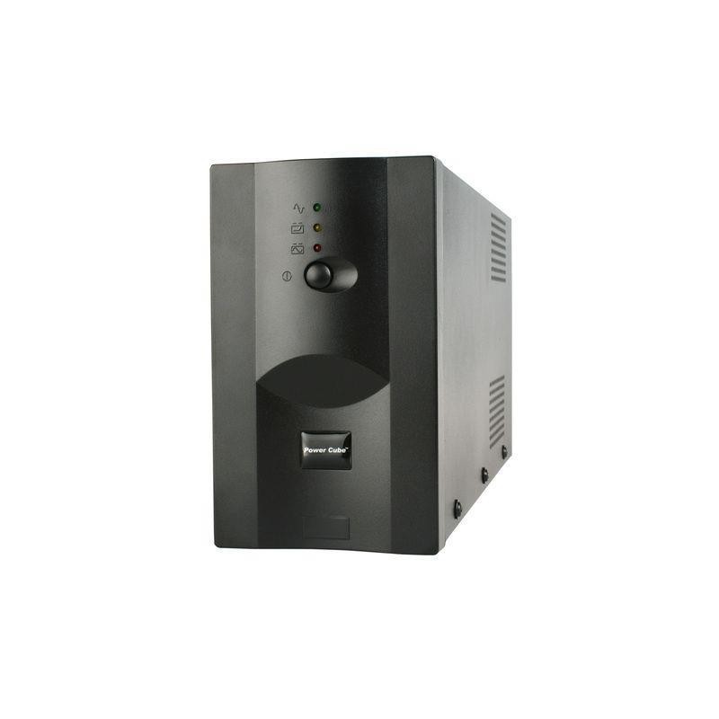 Promo Pack: Energenie UPS 850VA + Energenie prepäťová ochrana pre UPS, 3 zásuvky UPS-PC-850AP + EG-PSU3F-01