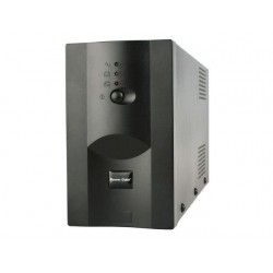 Promo Pack: Energenie UPS 1200VA + Energenie prepäťová ochrana pre UPS,3 zásuvky UPS-PC-1202AP + EG-PSU3F-01