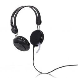 4World Stereofonické slúchadlá, s mikrofón s pohodlnými náušníky 09961