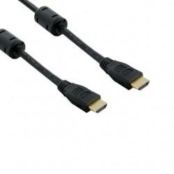 4World Kabel HDMI - HDMI 19/19 M/M 15m, feritový filter, pozlátený 06861
