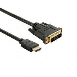 4World Kabel pro LCD DVI-D (24+1)- HDMI (19) M/M 1.8m - retail 04698