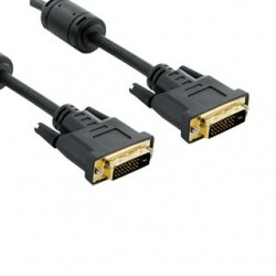 4World Kabel pro LCD DVI-D (24+1)- DVI-D (24+1) M/M 3m, DL ferryt -...