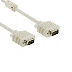 4World Kabel pro VGA/SVGA D-Sub15 M/M 3m, ferritový filter 04685