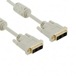 4World Kabel pro LCD DVI-D (24+1)- DVI-D (24+1) M/M 1.8m, DL ferryt - retail 04692