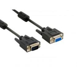 4World Prodlužovací kabel pro VGA/SVGA D-Sub15 M/F 3m ferritový...
