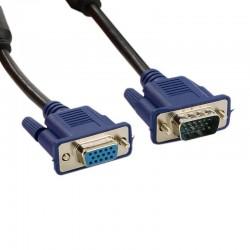 4World Prodlužovací kabel pro VGA/SVGA D-Sub15 M/F ferritový filter tienený 10m 06101