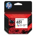 HP Cartridge HP 651 Cyan/Magenta/Yellow C2P11AE#BHK