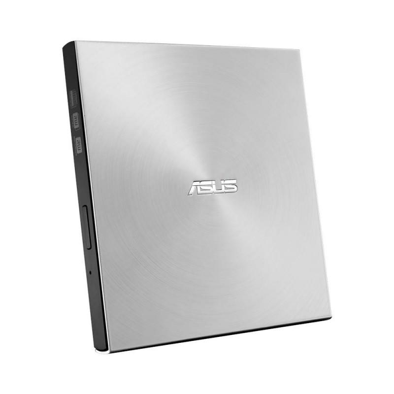 External DRW Asus SDRW-08U7M-U, USB, Silver, + 2 Bonus M-Discs SDRW-08U7M-U/SIL/G/AS
