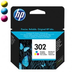 HP Cartridge HP 302 Tri-co Cyan/Magenta/Yellow F6U65AE