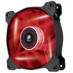 Corsair Air Series AF120 LED Red Quiet Edition, 120mm vent., 25dBA, Single pack CO-9050015-RLED