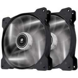 Corsair Air Series SP140 140mm ventilátor, 3pin, biely LED, Twin pack CO-9050035-WW