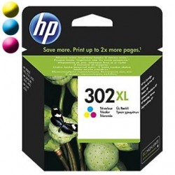 HP Cartridge HP 302XL Tri-co Cyan/Magenta/Yellow F6U67AE
