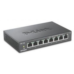 D-Link 8-port 10/100 Metal Housing Desktop Switch DES-108/E