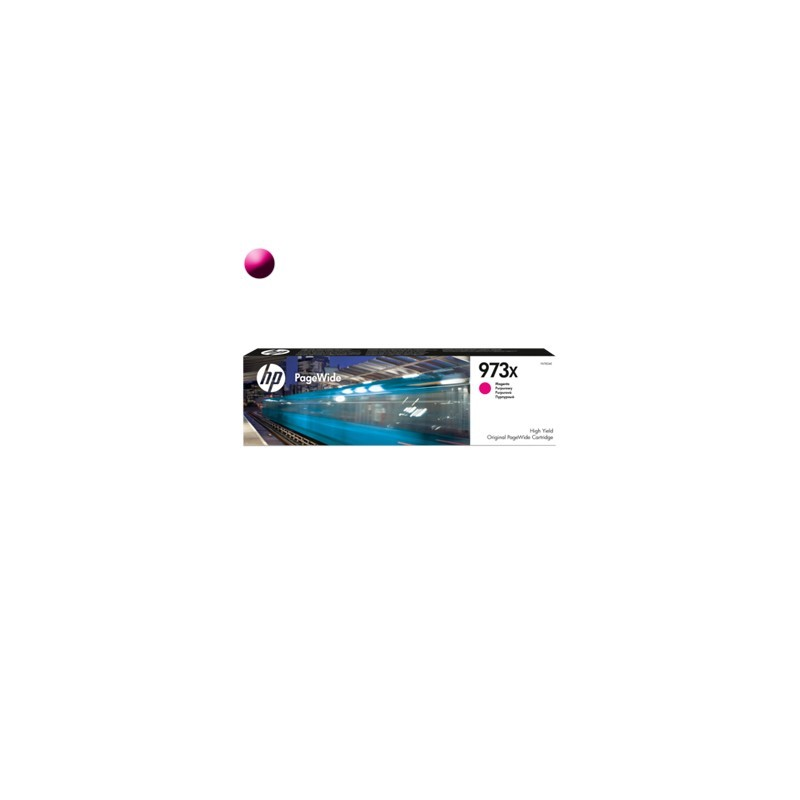 HP Cartridge PageWide F6T82AE 973X Magenta 7000str