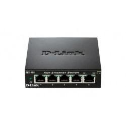 D-Link 5-port 10/100 Metal Housing Desktop Switch DES-105/E