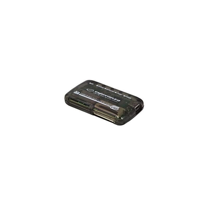 Esperanza EA117 Čítačka kariet All-in-One USB 2.0 EA117 - 5905784768618