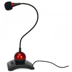 Esperanza EH130 CHAT stolný mikrofón s ohybným ramenom a vypínačom, čierny EH130 - 5905784769035