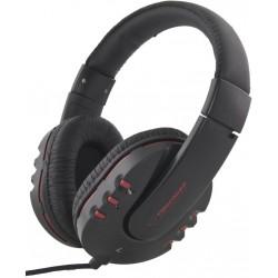 Esperanza EH142K MAUI Stereo slúchadlá, ovl. hlasitosti, 3m, čierne EH142K - 5901299903865