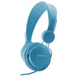 Esperanza EH148B SENSATION Stereo slúchadlá, ovl. hlasitosti, 3m, modré EH148B - 5901299908013