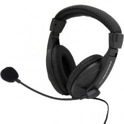 Esperanza EH103 CONCERTO Stereo slúchadlá s mikrofónom, ovl. hlasitosti, 2.5m EH103 - 5905784767864