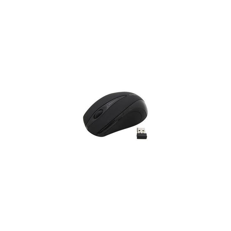Esperanza EM101K ANTARES bezdrôtová optická myš, 800 DPI, 2.4GHz, USB, čierna EM101K - 5905784766980