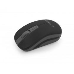 Esperanza EM126EK URANUS bezdrôtová optická myš, 1600 DPI, 2.4GHz, čierno-sivá EM126EK - 5901299910962