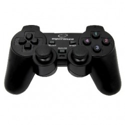 Esperanza EG102 WARRIOR gamepad s vibráciami pre PC/PS3, USB EG102 - 5905784767147