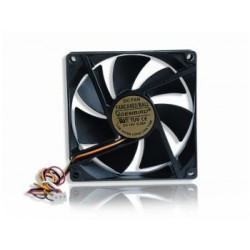 Gembird ventilátor pre PC case, 90x90mm, 3-pin, guličkové ložisko FANCASE2/BALL