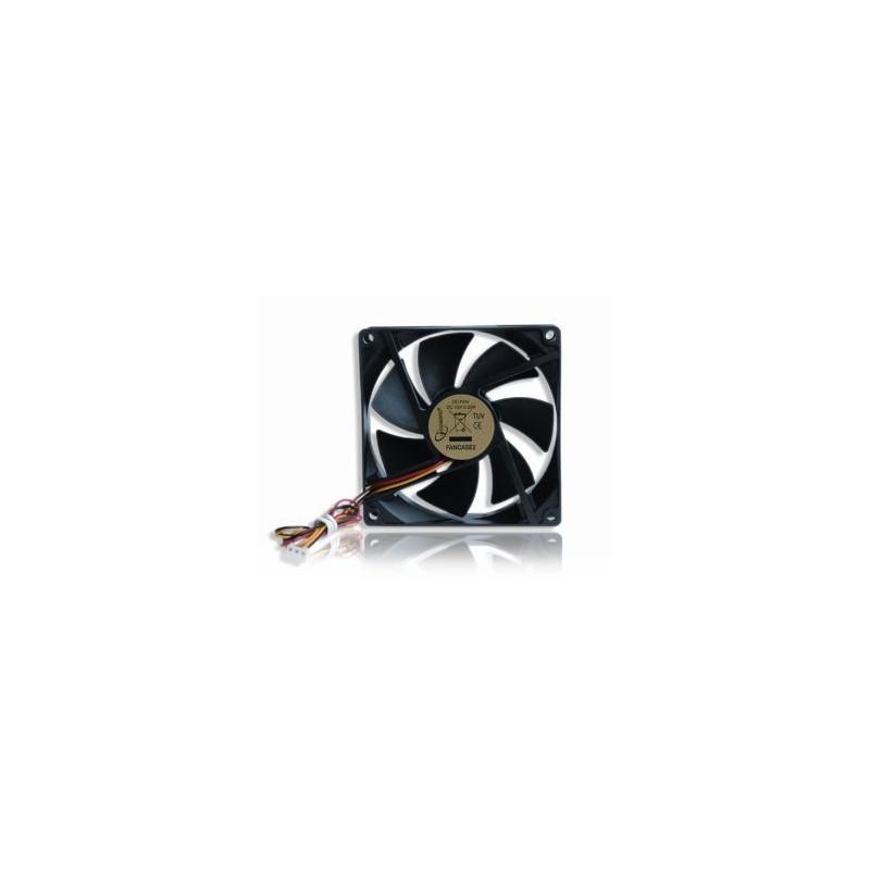 Gembird ventilátor pre PC case 90mm * 90mm * 25mm, 3-pin FANCASE2