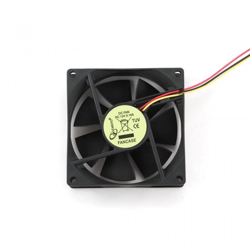 Gembird ventilátor pre PC, 120x120m, 3-pin FANCASE3