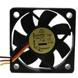 Gembird ventilátor pro grafiku VGA 50x50x10, 3-pin, guličkové ložisko D50BM-12AS