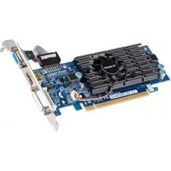 Gigabyte GeForce CUDA GT 210, 1GB DDR3 (64 Bit), HDMI, DVI, D-SUB, LP, BOX GV-N210D3-1GI