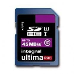 INTEGRAL SDHC karta 8GB Class 10 (rýchlosť čítanie až 45MB/s) INSDH8G10-45