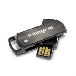 INTEGRAL Secure 360 16GB USB 2.0 flashdisk, AES 256 bit šifrovanie INFD16GB360SECV2