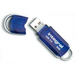 INTEGRAL Courier 8GB USB 3.0 flashdisk (čítanie až 100MB/s; zápis až 12MB/s) INFD8GBCOU3.0