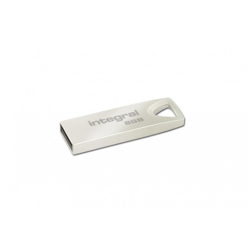 INTEGRAL ARC 8GB USB 2.0 flashdisk, kovový INFD8GBARC