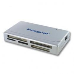 INTEGRAL čítačka pamaťových kariet USB 2.0 SDHC/SDXC, strieborná INCRMULTI