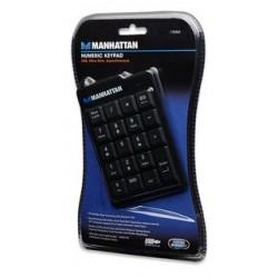 Manhattan Numerická klávesnica USB, čierna 176354