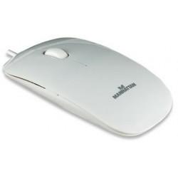 Manhattan Optická myš Silhouette, 1000dpi, USB, biela 177627