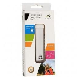 TRACER - Power Bank 2600 mAh biela TRABAT44377