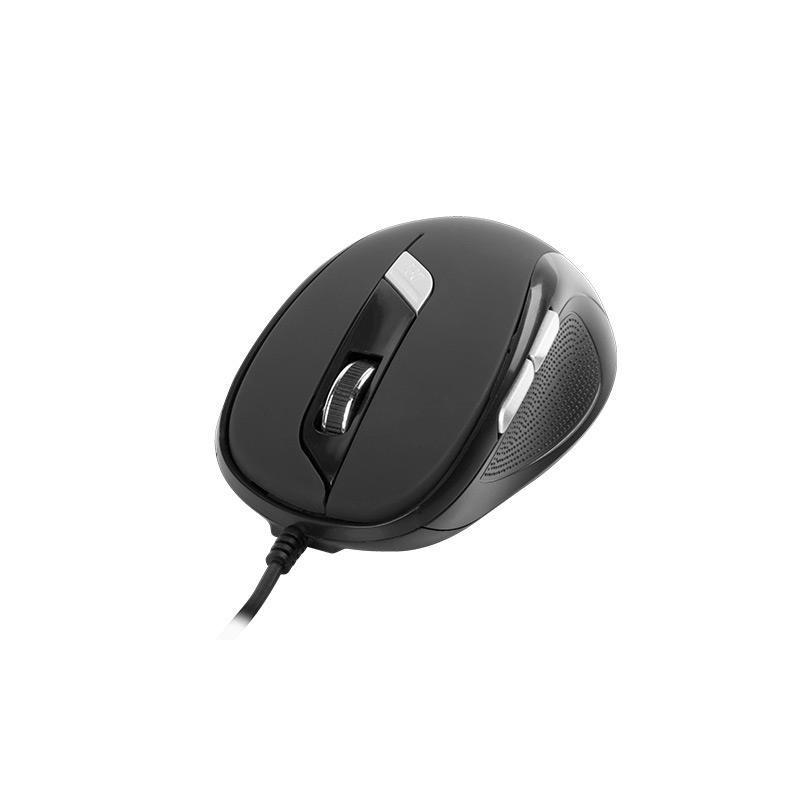 Natec PIGEON optická myš, 1600 DPI, USB, čierna NMY-0667
